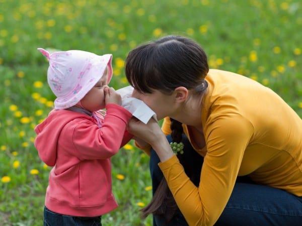Allergien bei Baby und Kleinkind (© Thinkstock)