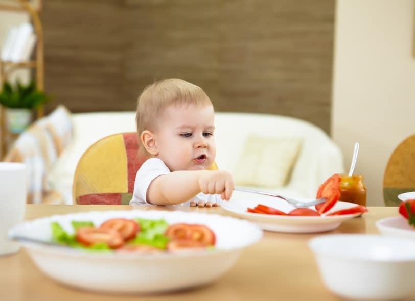 Ernährung von Babys