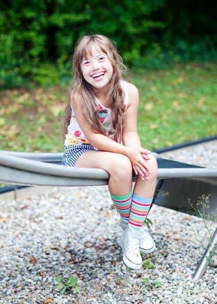 Juliana heute - ihr Lachen steckt an © Conny Wenk