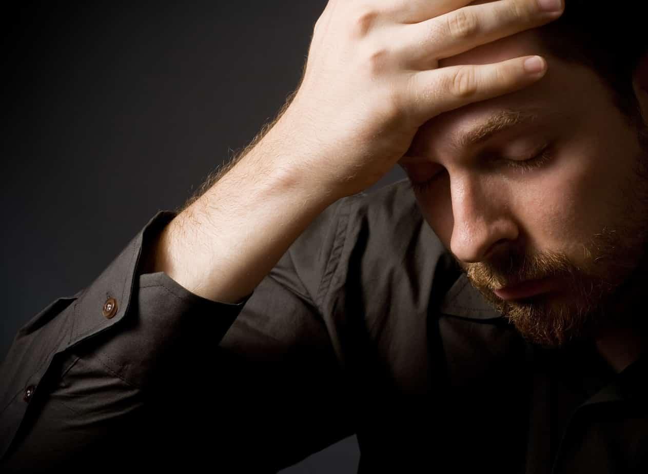Vater leidet an Depressionen