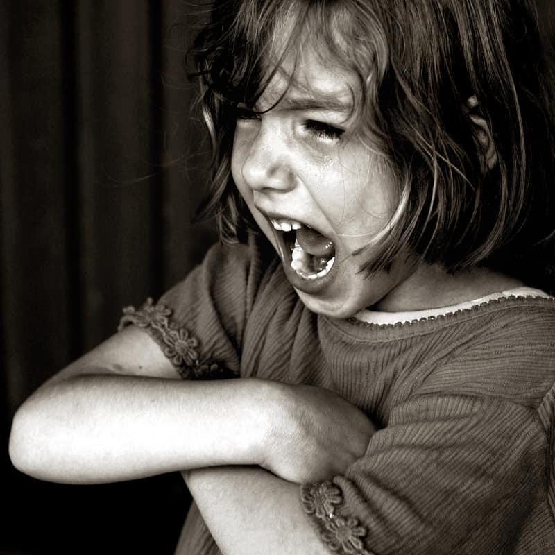 schreien in der erziehung