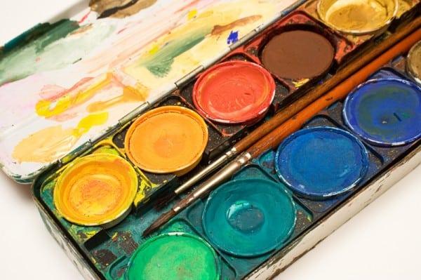 Malen mit Farben