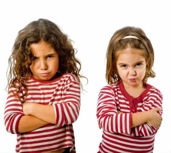 Geschwister zanken sich manchmal reichlich © Thinkstock