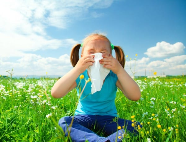 Wenn's in der Nase juckt - Allergien bei Kindern