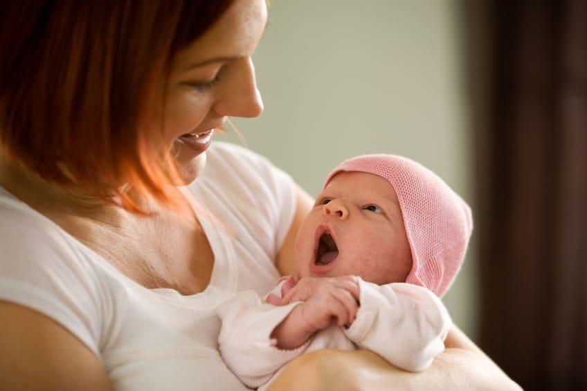 Entspannung für Mutter und Kind