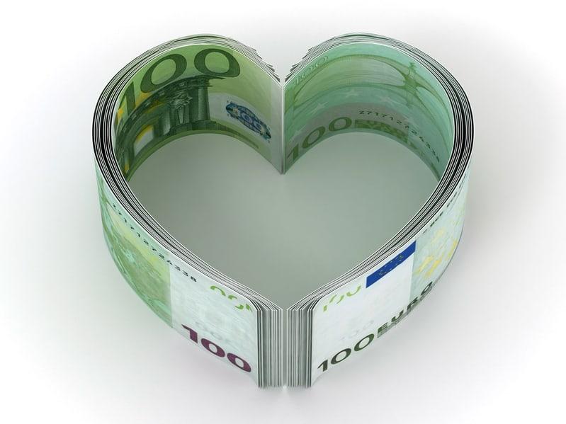 Geld und Liebe