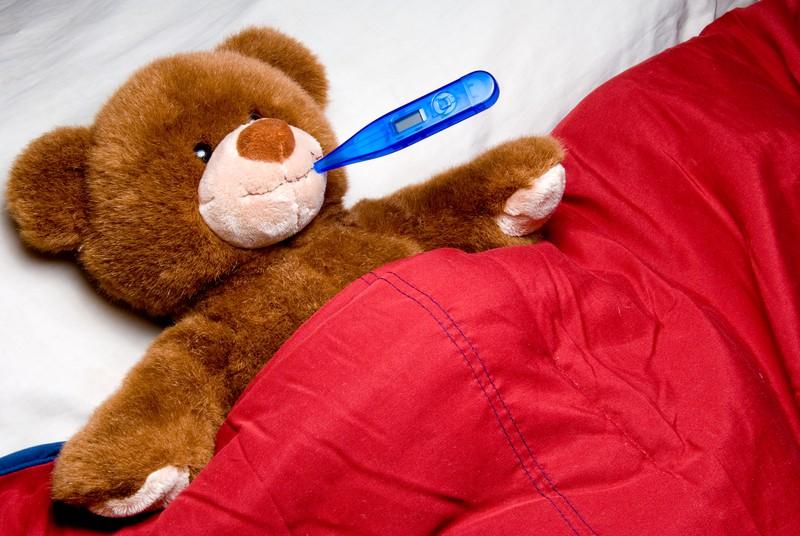 Krankenhausaufenthalt von Kindern