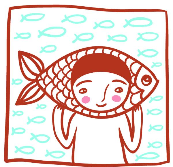 Kinderhoroskop Fische März