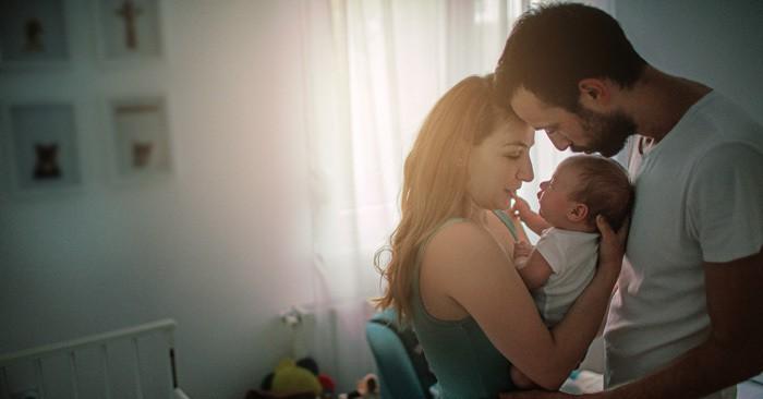 Das Babyzimmer bietet Geborgenheit und Sicherheit (© Getty Images)