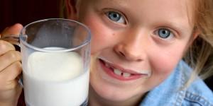Milch gesund für Kinder
