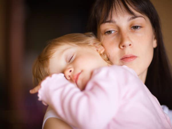 Mamas Angst vorm Scheitern (© Thinkstock)