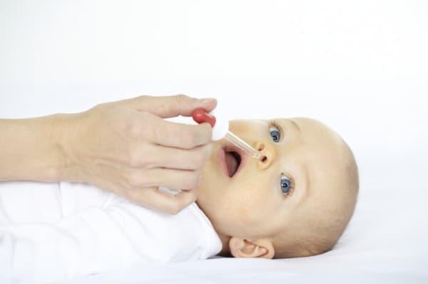 Schnupfen bei Babies