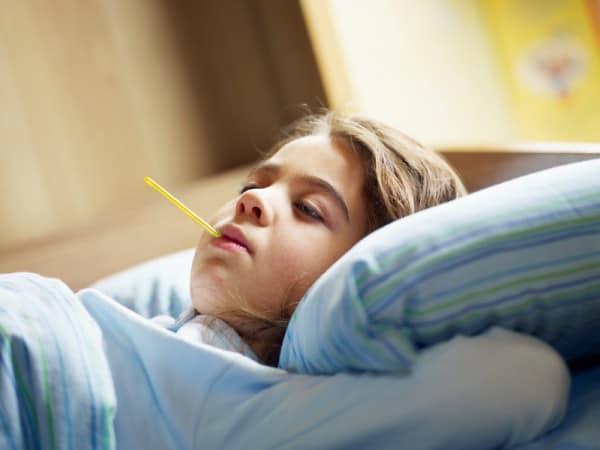 Symptome und Therapie bei 3-Tage-Fieber