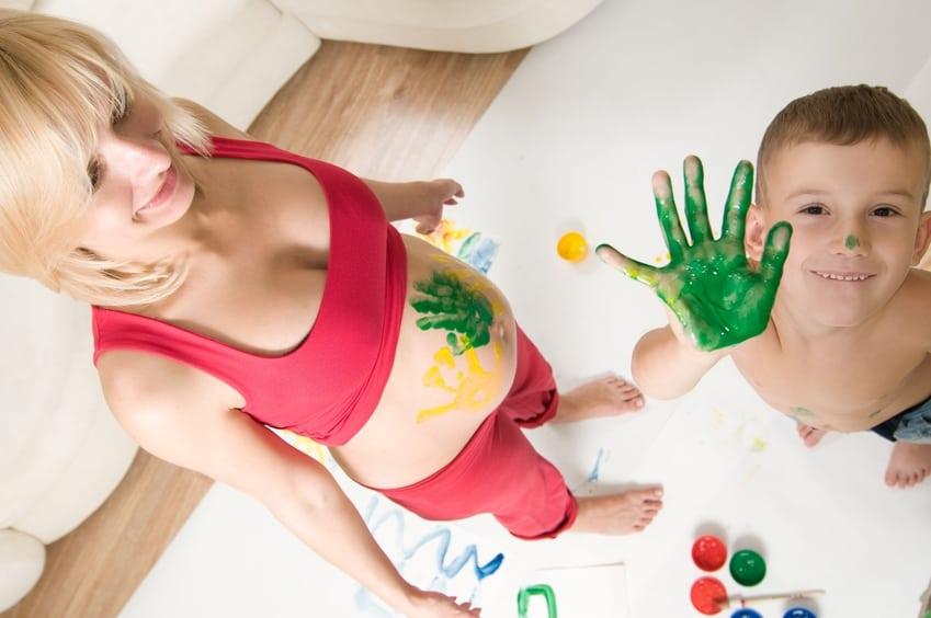 Schwangere und Renovierungsarbeiten