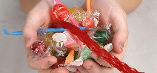 Süßigkeiten lieben schon die Kleinsten