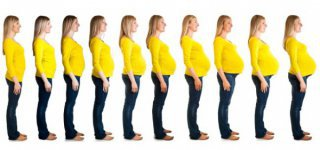 Schwangerschaft und Gewicht (© Thinkstock)