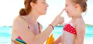 richtige Sonnencreme für die Kleinen