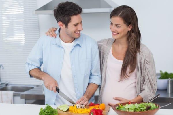 Schwanger und vegetarisch leben (© Thinkstock)