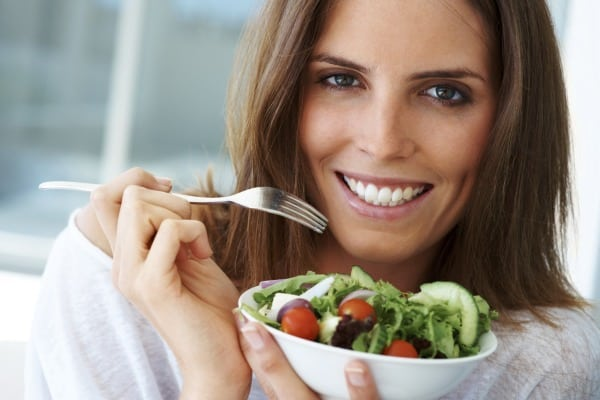Vegetarischer Ernährung in der Schwangerschaft? (© Thinkstock)