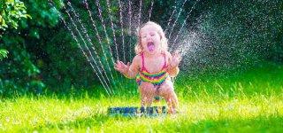 Pures Wasservergnügen im Garten (c) Thinkstock