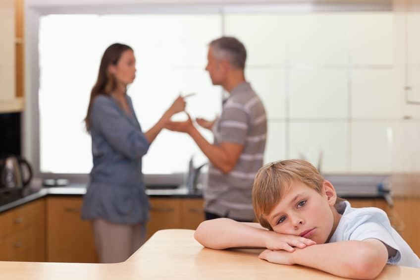 Streitende Eltern