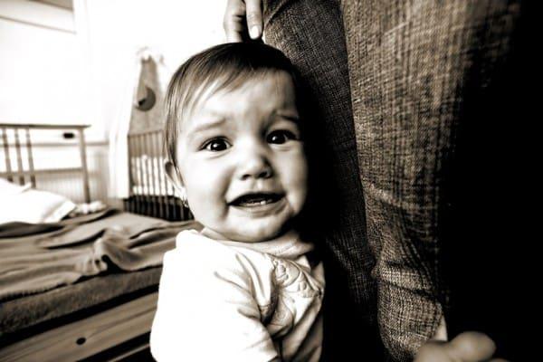 Fremdeln bei Babies