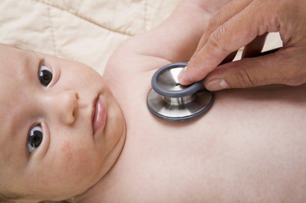 Probleme des Säuglings nach der Geburt