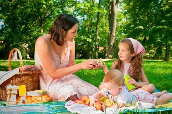 Der Klassiker der kalten Küche: ein Picknick (c) Thinkstock