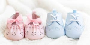 Babyschuhe zur Geburt