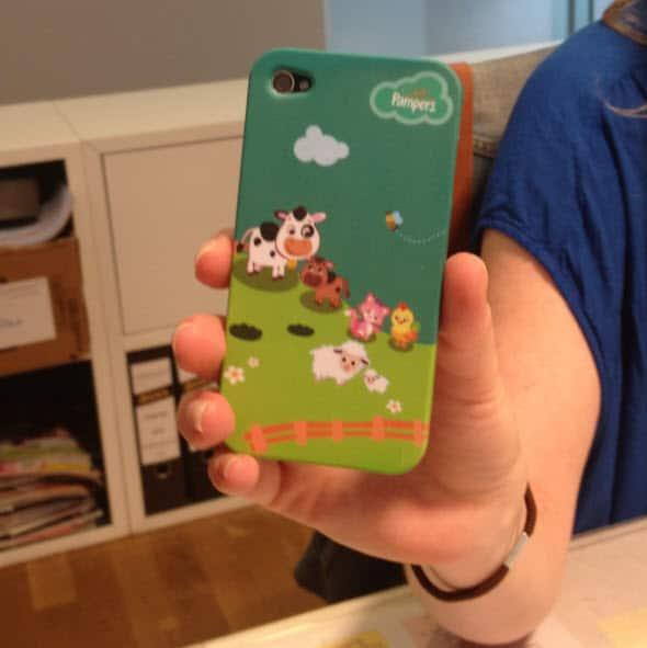 Pampers iPhone Hüllen zu gewinnen