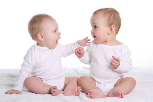 Babys sprechen