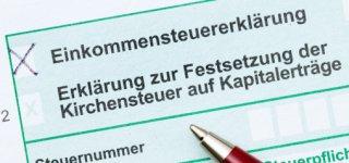 Formular Einkommenssteuer deutsch