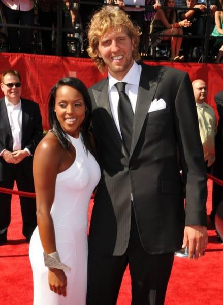 Dirk Nowitzki und Jessica Olsson (© Koi Sojer / PR Photos)