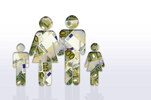 Regelsatz Hartz IV Arbeitslosengeld II für Familien