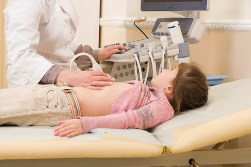Ultraschall bei Verdacht auf Blinddarm-Entzündung