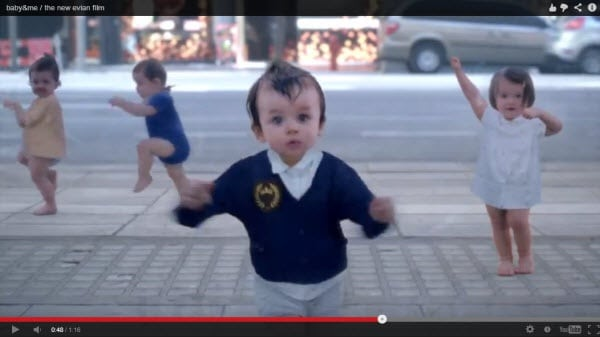 Evian Babies 2013 - Baby and me Video
