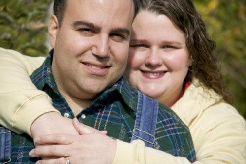 Glückliche Ehe macht dick