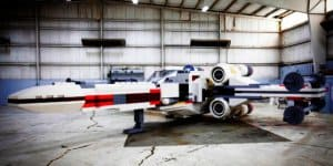 Größtes LEGO Star Wars X-Wing Modell der Welt (© LEGO)