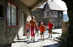 Jugendherberge Bacharach in der historischen Burg Stahleck