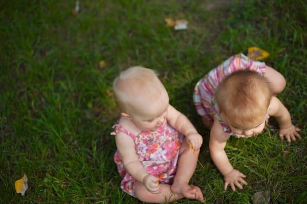 Schwestern bekommen am gleichen Tag ihr Kind
