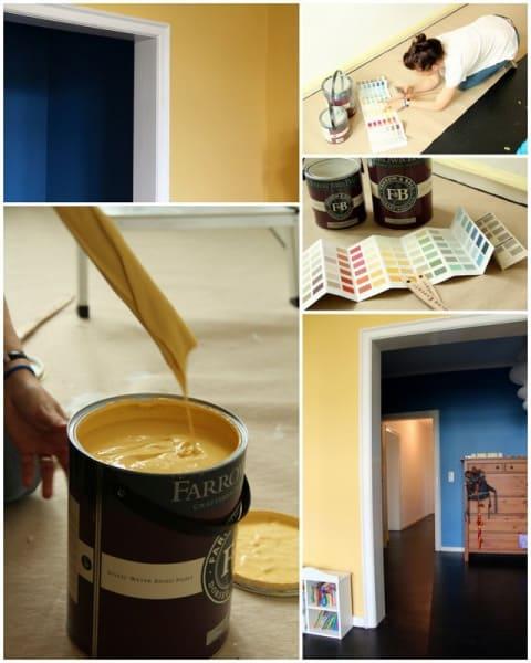 Neue Wandfarben im Kinderzimmer