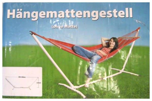 rofu kinderland ruft gestell f r h ngematte zur ck. Black Bedroom Furniture Sets. Home Design Ideas