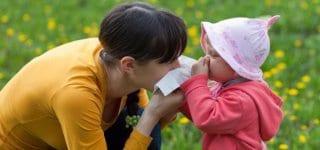 Allergien und Heuschnupfen im Kindergarten (© Thinkstock)