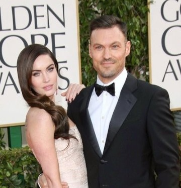 Megan Fox and Brian Austin Green (© Andrew Evans / PR Photos)