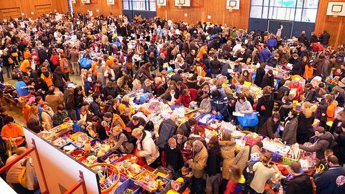 Kinder-Flohmarkt in Hamburg (© svensonsan / Flickr)