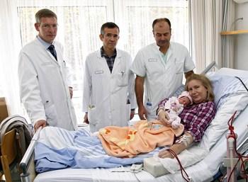 Dialyse-Patientin bringt gesundes Kind zur Welt (© Klinikum Nürnberg)