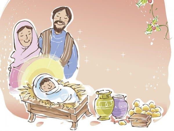 Geburt ohne Hebamme: Jesus (c) Thinkstock