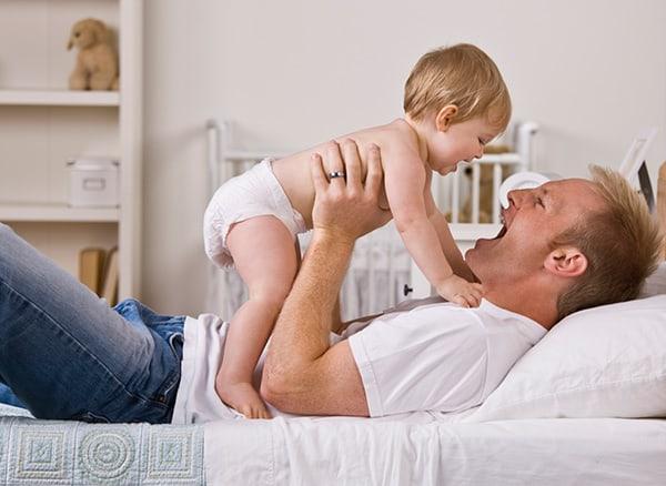 Papa und Mama haben oft eigene Spitznamen für den Nachwuchs (© Thinkstock)