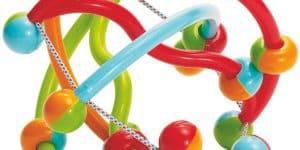 Rückruf der Baby-Rassel Manhattan Toy Quixel
