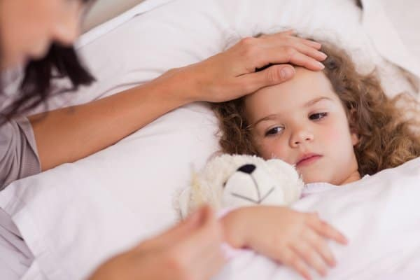 Das Mutter Betreut Kind Wer Krank